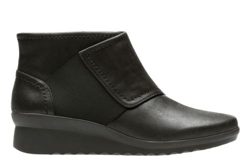Caddell Rush Black Synthetic Nubuck womens-collection