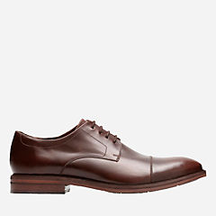 Mckewen Cap Mahogany Leather mens-shoes