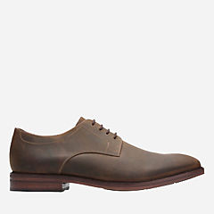 Mckewen Plain Brown Leather mens-bostonian-dress-shoes