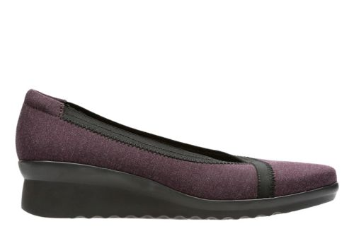 Caddell Dash Aubergine Heathered Textile womens-collection