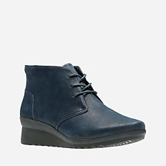 Caddell Hop Navy Synthetic Nubuck womens-collection