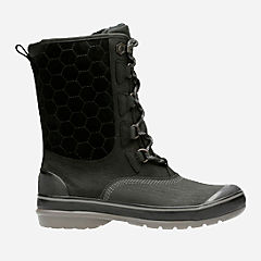 Muckers Lace Black Nubuck womens-ortholite