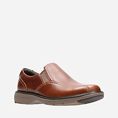 Cushox Step Dark Tan Leather mens-unstructured