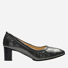 Grace Isabella Pewter Metallic womens-heels