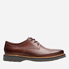 Newkirk Plain Mahogany Leather mens-oxfords-lace-ups