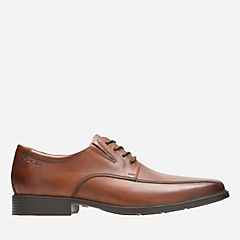 Tilden Walk Dark Tan Leather mens-shoes