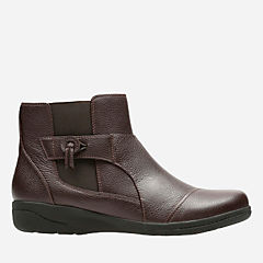 Cheyn Work Dark Brown Leather womens-collection