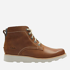 Dexy Top Youth Brown Leather boys-boots
