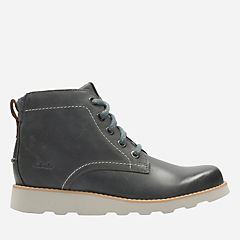 Dexy Top Youth Grey Leather boys-boots