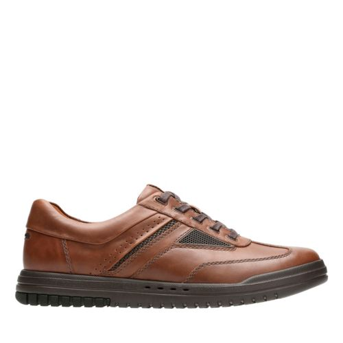 Unrhombus Fly Tan Leather mens-oxfords-lace-ups