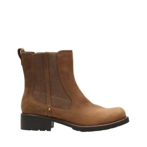 Orinoco Club Brown Snuff womens-ankle-boots