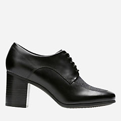 Kensett Darla Black Combi Leather womens-heels