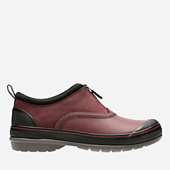 Muckers Trail Burgundy Rubber/Nubuck womens-ortholite