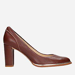 Ellis Edith Tan Leather womens-dress-shoes