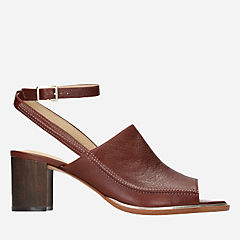 Ellis Ada Tan Leather womens-heels