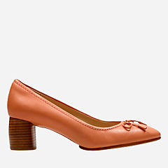 Grace Maya Pink Leather womens-heels