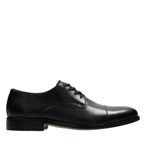 James Cap Black Leather mens-dress-shoes