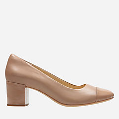 Orabella Mia Nude Leather womens-kitten-heels