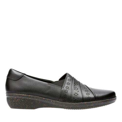 Everlay Uma Black womens-comfort-shoes