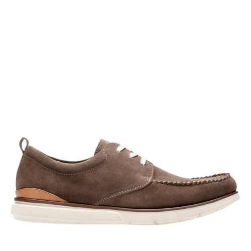 Edgewood Mix Taupe Suede mens-casual-shoes