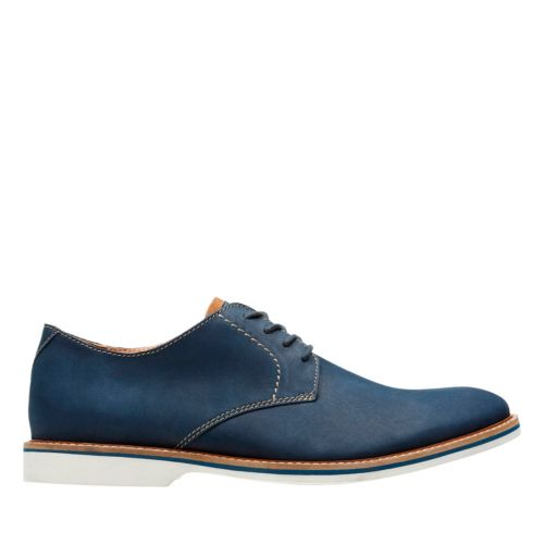 Atticus Lace Navy Nubuck mens-oxfords-lace-ups