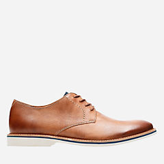 Atticus Lace Tan Leather mens-oxfords-lace-ups