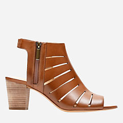 Deloria Ivy Tan Leather womens-sandals-heels