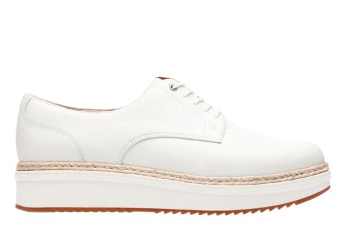 Teadale Rhea White Leather womens-casual-shoes