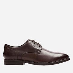 Banbury Lace Dark Brown Leather mens-dress-shoes