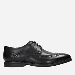 Banbury Limit Black Leather mens-dress-shoes