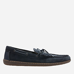Saltash Edge Navy Suede mens-casual-shoes