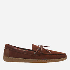 Saltash Edge Rust Suede mens-casual-shoes