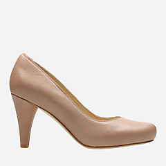Dalia Rose Nude Leather womens-heels