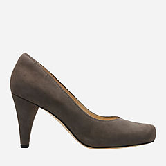 Dalia Rose Taupe Suede womens-heels