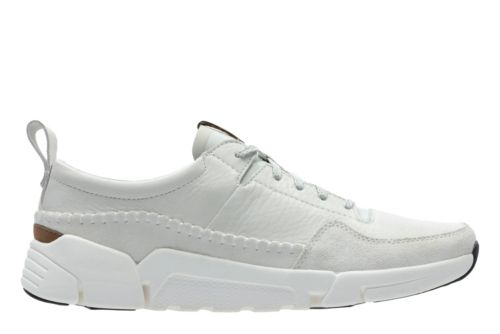 Triactive Run White Leather mens-active
