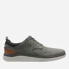 Garratt Lace Grey Nubuck mens-casual-shoes