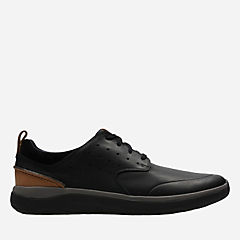 Garratt Lace Black Leather mens-active
