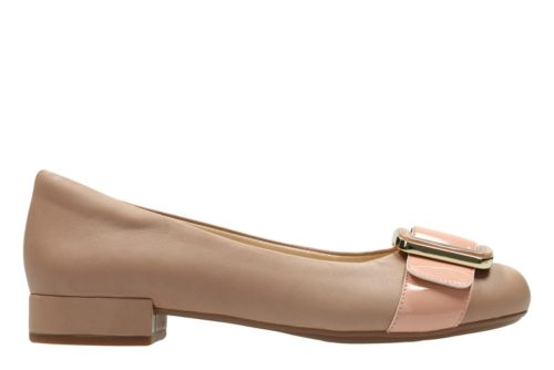 Rosabella Faye Nude Combi Leather womens-dress-shoes