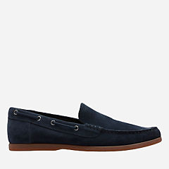 Morven Sun Navy Suede mens-barefoot-shoes