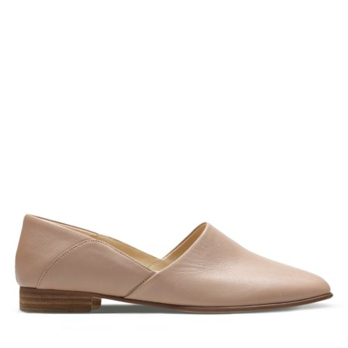 Pure Tone Nude Leather womens-dress-shoes