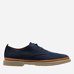 Trace Tailor Navy Nubuck mens-oxfords-lace-ups