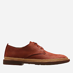 Trace Tailor Brick Red Leather mens-oxfords-lace-ups