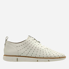 Tri Etch White Leather womens-active