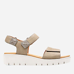 Un Karely Bay Sage Nubuck womens-unstructured
