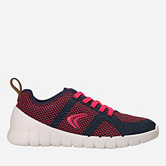 Sprint Flux Navy/Raspberry girls-sneakers