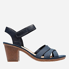 Sashlin Jeneva Navy Nubuck womens-view-all