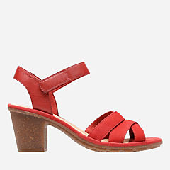 Sashlin Jeneva Red Nubuck womens-view-all