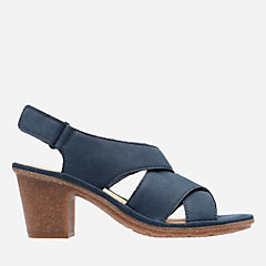 Sashlin Nolte Navy Nubuck womens-heels