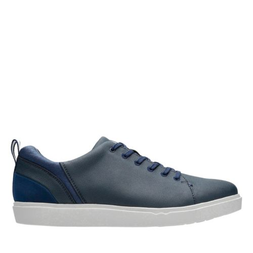 Step Verve Lo Navy Microfiber mens-casual-shoes