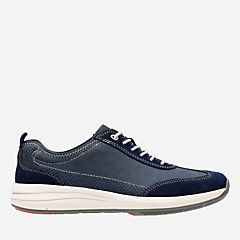 Un Coast Lace Navy Nubuck mens-unstructured